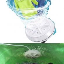 Mini lavatrice ad ultrasuoni portatile usb lavaggio camper campeggio viaggio