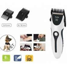 Tosatrice senza fili per cani e gatti con accessori e pettini di regolazione