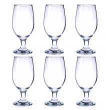 Set bicchieri calici da birra COK Zar cerveza 6 calici in vetro 37 cl