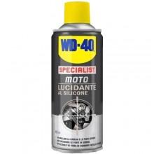 Lucidante al silicone moto WD-40 spray 400ml specialist plastica gomma brillante