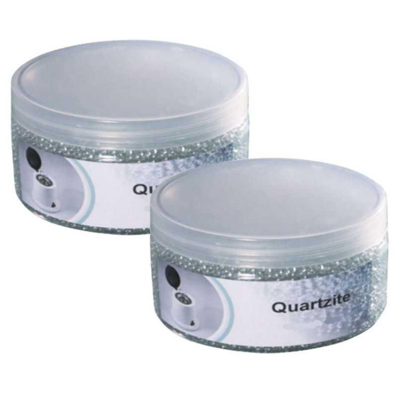 2x Ricambio sfere quartzite perline sterilizzatore microsfere quarzo 500g
