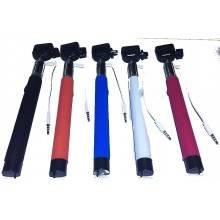 Bastone selfie telescopico regolabile morsa e bastone estensibile