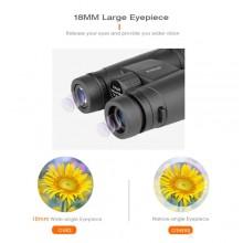 Binocolo Eyebre 10X42 zoom 10x Bak4 prisma binoculare da caccia impermeabile
