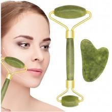 Rullo massaggio viso e corpo massaggiante circolazione quarzo pelle sensibile