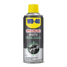 WD40 Specialist moto cera lucidante 400 ml alluminio carbonio cromature pulizia
