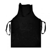 Grembiule da cucina paravanti per pizzeria bar chef cuoco con tasca nero 85x60cm