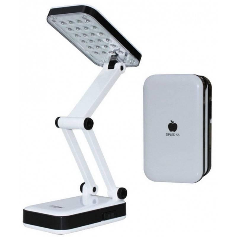 Lampada 24 LED da tavolo richiudibile e ricaricabile