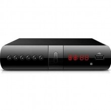 Decoder digitale terrestre ESB DVB-T/T2 HD TV scart HDMI 1080p telecomando QY-H01