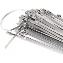 70 100 fascette per tubi morsetto metalliche in acciaio lunghe 300 200 150 mm