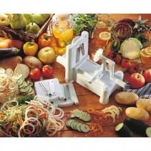 Affetta frutta verdura spirale spiral slicer affettatore spirale taglia verdura