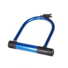 Lucchetto U antifurto moto bici elettrica arco rigido catena sicurezza 18x18 cm