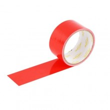 6 rotoli nastro adesivo telato rosso  5m x 48mm silenzioso imballaggio rotolo imballo