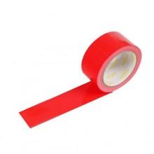 6 rotoli nastro adesivo telato rosso 18m x 48mm silenzioso imballaggio rotolo imballo