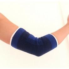Coppia supporti fasce gomiti sostegno supporto fascia elastica gomito blu tutore