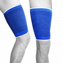 Coppia fascia elastica supporto per coscia polpacci anallergico e lavabile