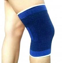 Coppia fascia elastica supporto per ginocchio anallergico e lavabile unisex