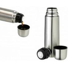 Termos thermos Termico portatile tappo a scatto in acciaio inox 1 litro
