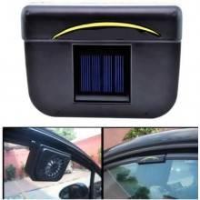 Mini Ventilatore smuovi aria odori solare auto camper montaggio su finestrino