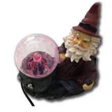 Lampada sfera al plasma ball scariche elettriche fulmini palla presa 220V - MAGO