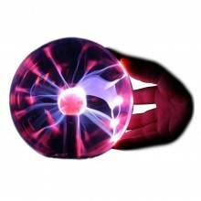 Lampada sfera plasma ball scariche elettriche fulmini palla presa 220V - STREGA