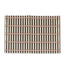 6 tovagliette in legno di bambù 30 x 45 cm cucina tavola legno