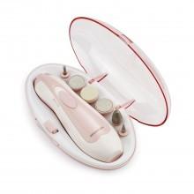 Kit pedicure manicure con 6 punte itercambiabili da viaggio broadcare unghie