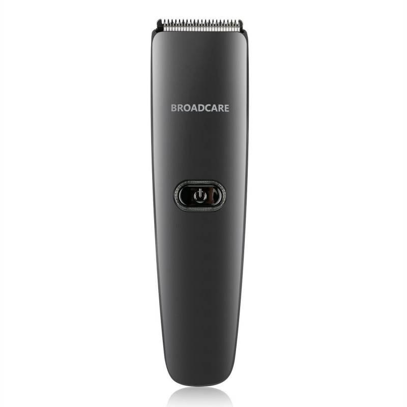 Tagliacapelli Elettrico broadcare Impermeabile ricaricabile Grooming Kit - Nero