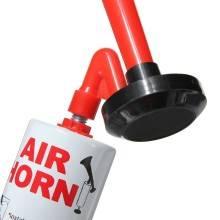 Corno manuale da stadio ad aria air horn tromba a mano con pompa eventi sportivi