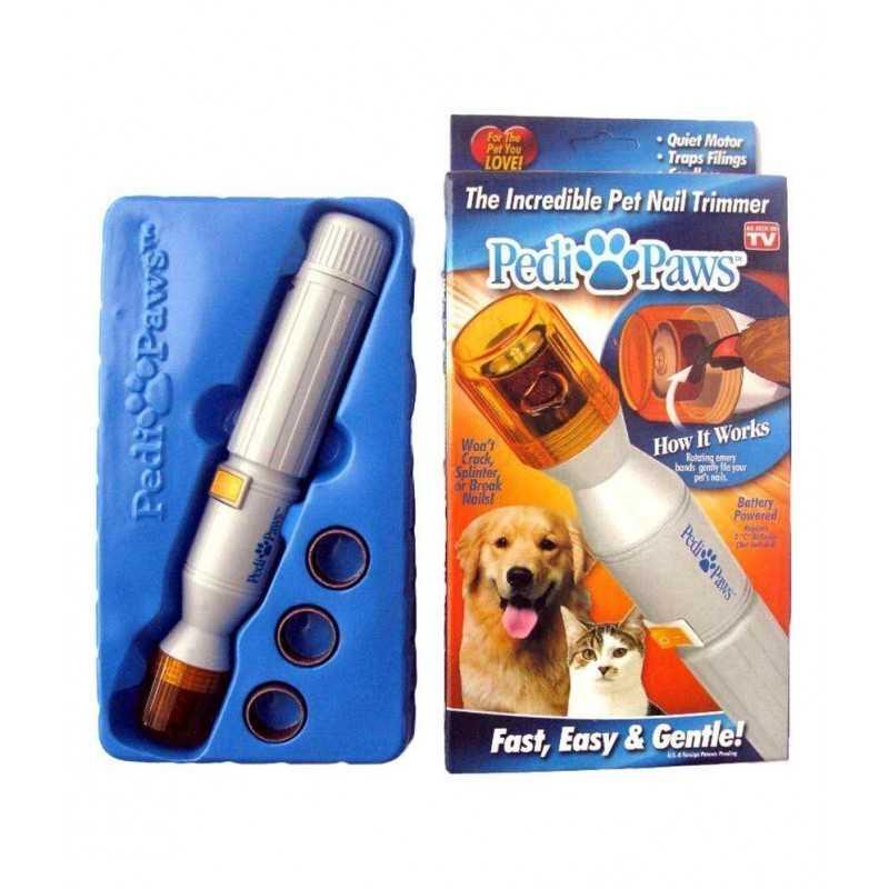 Pedi Paws - Tagliaunghie elettrico per cani e gatti - taglia unghie affila lima elettrica animali domestici