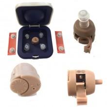 Mini auricolare interno non udenti amplificatore apparecchio acustico orecchio