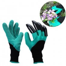Guanti Giardino Gloves genie con artigli per scavare rastrellare da giardinaggio