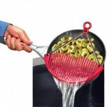Scolapasta da cucina flessibile better strainer scola pasta casa verdure padella