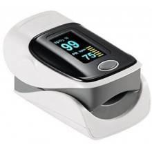 Saturimetro ossimetro dito ossigeno sangue misuratore display frequenza cardiaca