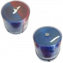 Lampeggiante di emergenza blu/rosso o blu brillante per auto presa accendisigari
