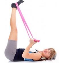 2X Banda Fascia elastica yoga pilates estensore elastico fitness sport crossfit