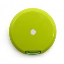 Contenitore porta pillole settimanale girevole tascabile verde pasticche