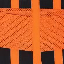Fascia modellante arancio snellente doppio strappo fitness snellente con stecche