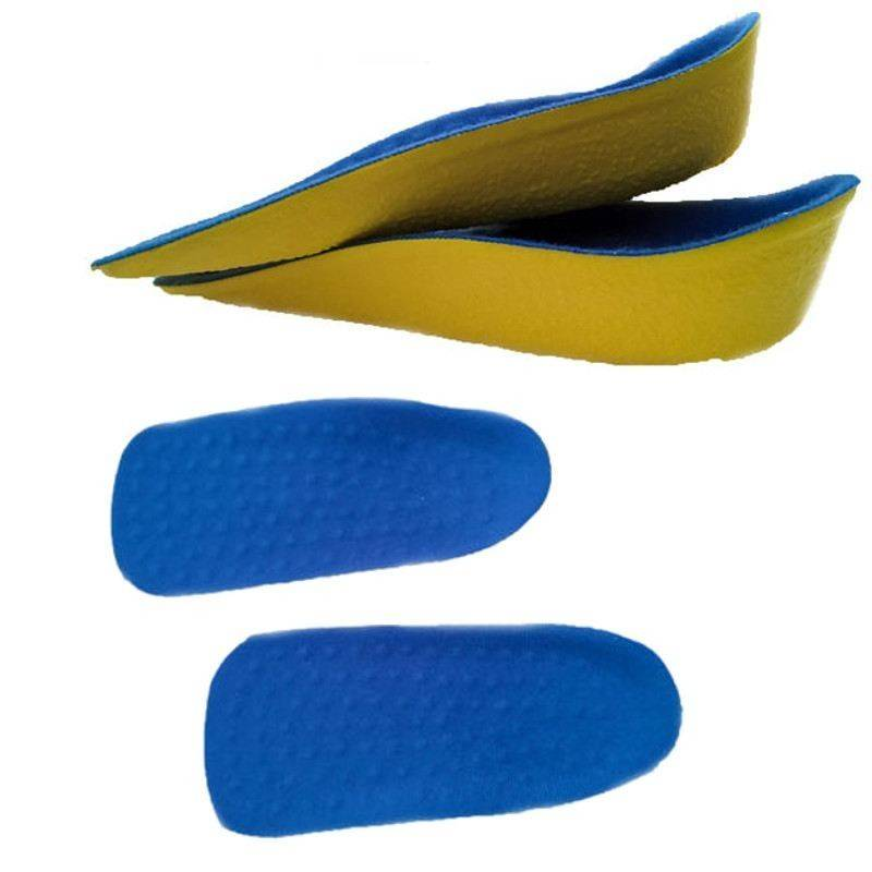 Coppia solette alzatacco massaggianti scarpe plantari 3 CM donna uomo morbide