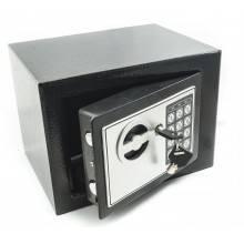 Cassaforte da incasso tastierino digitale in ferro con due chiavi combinazione