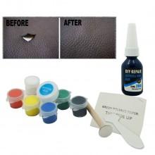 Kit riparazione restauro pelle vinile cappotti sedili borse sedie da ufficio
