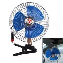 Ventilatore oscillante auto con presa accendisigari da 6 pollici 12V con pinza