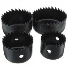 Set punta trapano fresa a tazza 32 38 45 54 mm foro circolare punte Drill Cutter