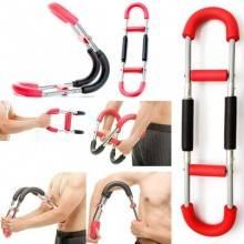 Attrezzo a molla allenamento braccia gambe fitness flessibile ginnastica