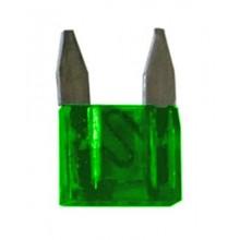 Fusibili lamellari assortiti 100pz ampere 30 25 20 15 10 7,5 5 auto piccoli