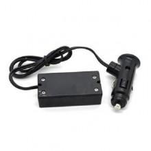 Display monitoratore voltaggio batteria auto LED con presa accendi sigari