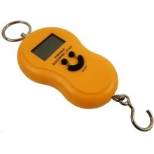 Piccola bilancia portatile elettronica con gancio 40 kg peso professionale
