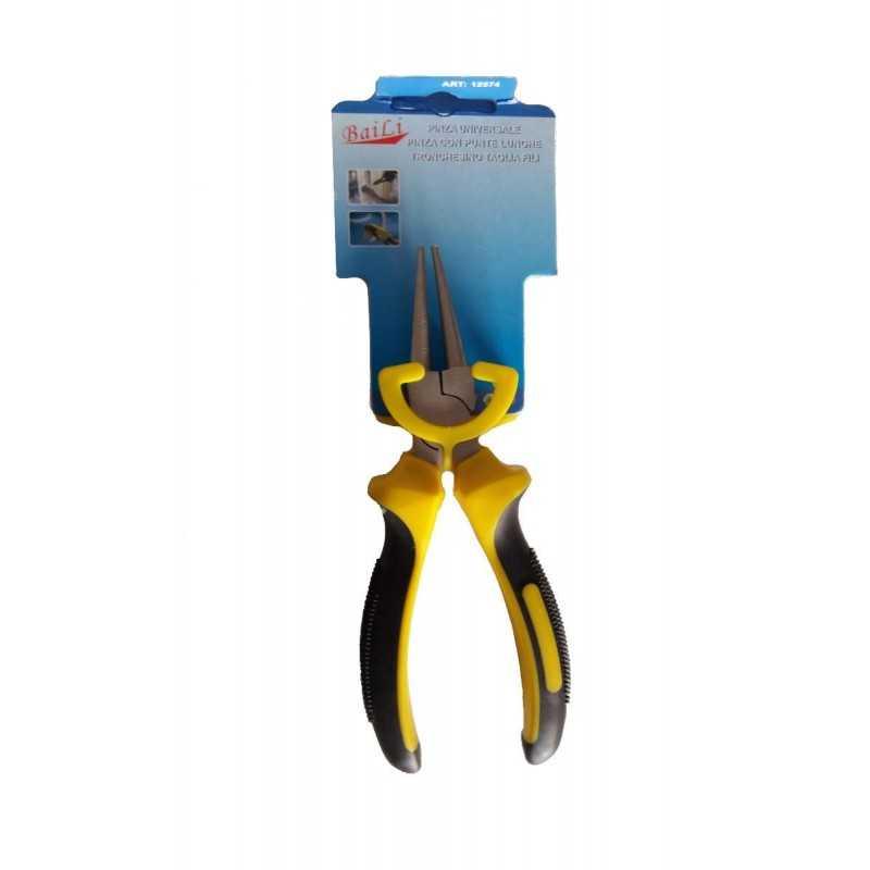 Pinza Pinze punte tonde per bricolage minuteria acciaio inox carbonio bricolage