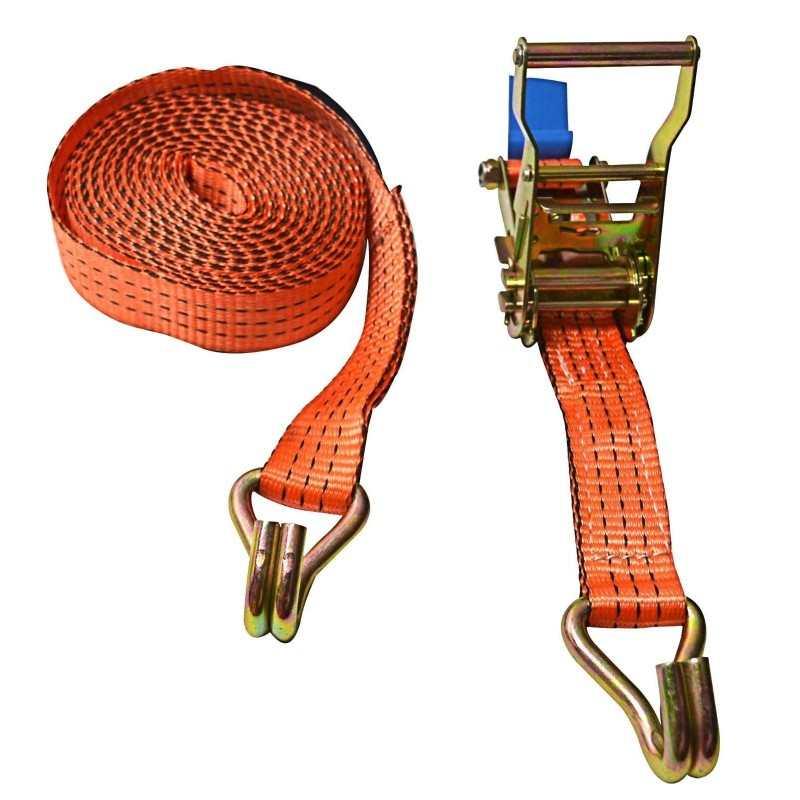 Fascia cinghia con tenditore portapacchi ganci a J uncino cricchetto 10M