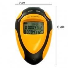Cronometro sport portatile retroilluminato laccio batterie al litio impermeabile