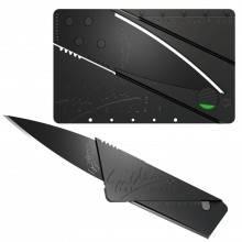2 X Coltello pieghevole lama nascosta in carta di credito taglio coltellino